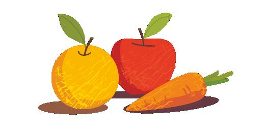 Organic Orange, Apple & Carrot Juice - We choose