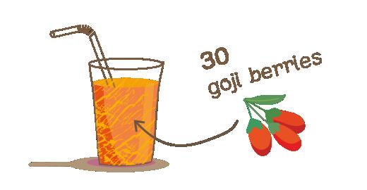 Pressed Goji berry Plus Juice - We boost