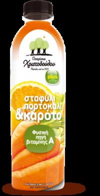 Σταφύλι, Πορτοκάλι & Καρότο plus