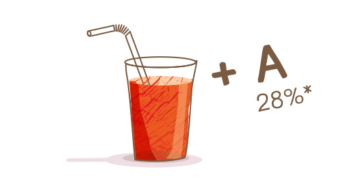 Σταφύλι, Πορτοκάλι & Καρότο plus - Διατηρούμε
