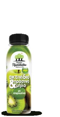 Χυμός Ακτινίδιο & Πράσινο μήλο Plus