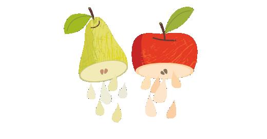 Pure Pear & Apple Juice - We juice