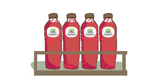 Στυμμένος χυμός Ρόδι, Μήλο & Καρότο - Εξασφαλίζουμε