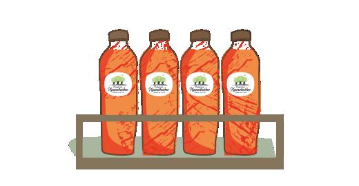 Χυμός Πορτοκάλι & Ρόδι plus - Εξασφαλίζουμε