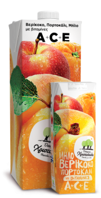 Vitamin Juice Apricot, Orange & Apple