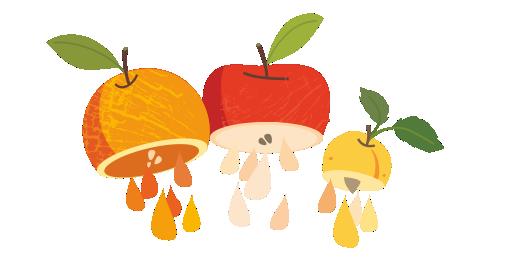Βερίκοκο, Μήλο & Πορτοκάλι με βιταμίνες A+C+E - Χυμοποιούμε