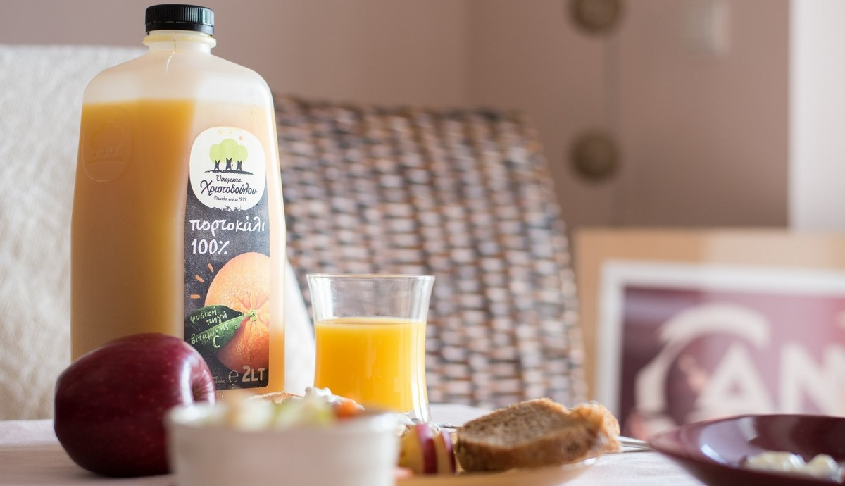 φυσικός χυμός πορτοκάλι