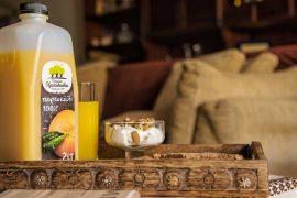 χυμός πορτοκάλι με χαμηλή οξύτητα