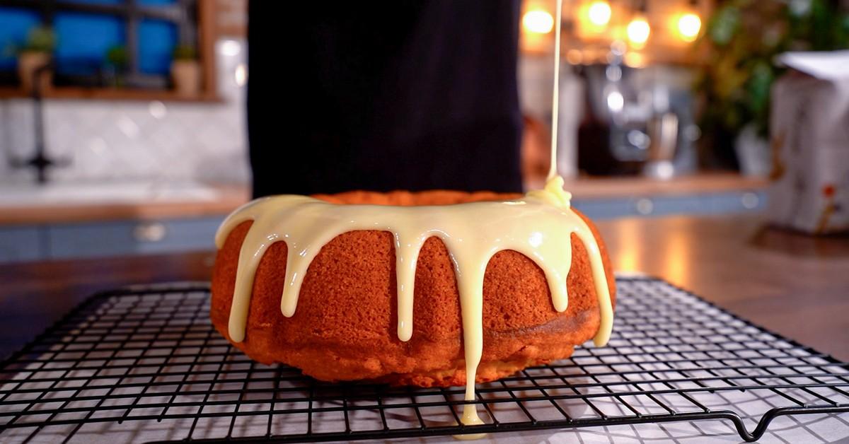 νηστίσιμο κέικ πορτοκαλιού