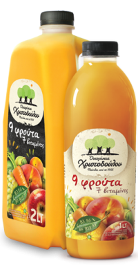 Natural Grape, Orange & Carrot juice