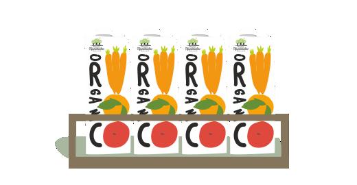 Πορτοκάλι, Μήλο & Καρότο - Εξασφαλίζουμε