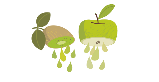 Pressed Kiwi & Green Apple Plus Juice - We juice