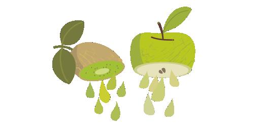 Kiwi & Green Apple Juice - We juice
