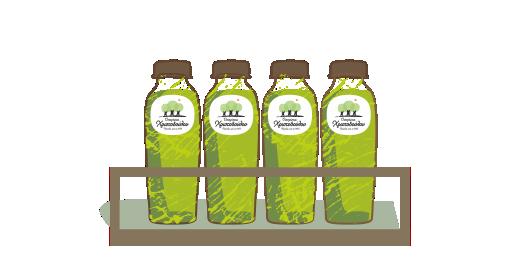 Pressed Kiwi & Green Apple Plus Juice - We ensure