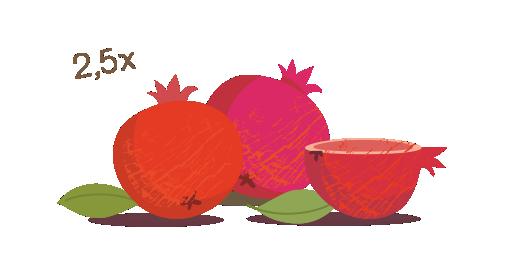 100% Pure Pomegranate Juice - We choose
