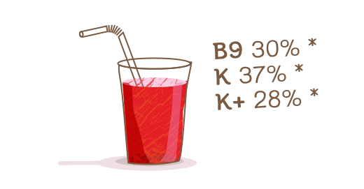 Φυσικός χυμός 100% Ρόδι - Διατηρούμε