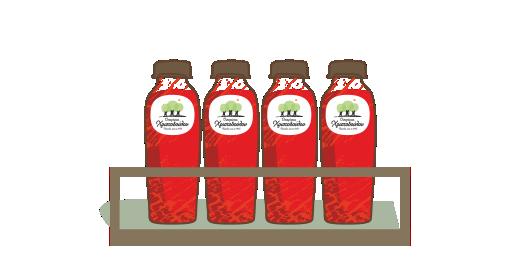 Φυσικός χυμός 100% Ρόδι - Εξασφαλίζουμε