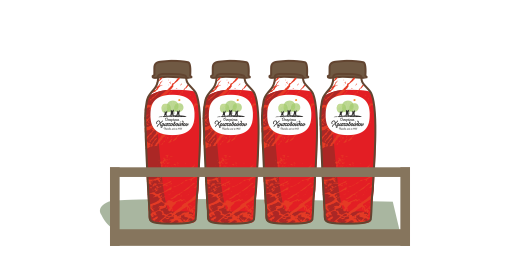 100% Pure Pomegranate Juice - We ensure
