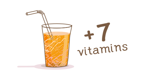 Vitamin Juice 9 Fruits  - We boost