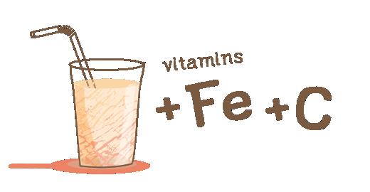 Μήλο με σίδηρο + βιταμίνη C - Ενισχύουμε