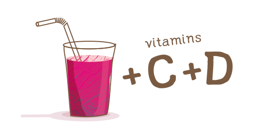 Vitamin Juice Sour cherry - We boost