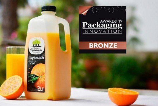 24 Ιουνίου 2019 - Βραβείο Packaging Innovation Awards