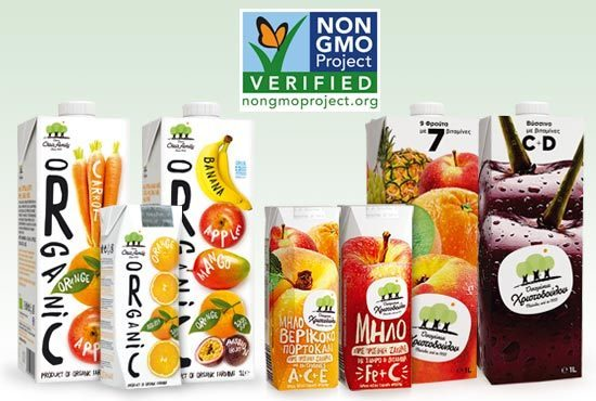 19 July 2018 - Chris Family juices are NON-GMOs verified!