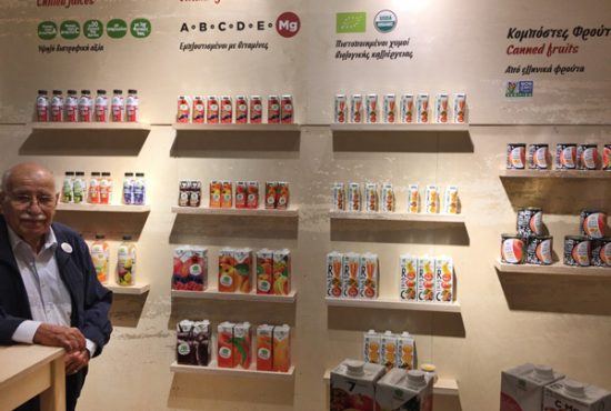 10 November 2017 - Our juices available at Ipirotissa