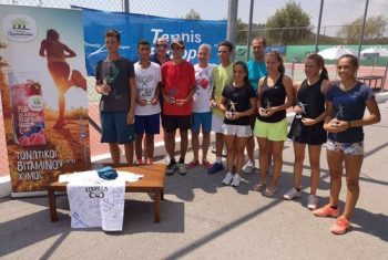 28 August 2018 - 11th International Tennis Tournament Koufalia Cup