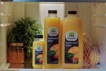 28 Ιουλίου 2021 - Νέος χυμός πορτοκάλι 1λτ